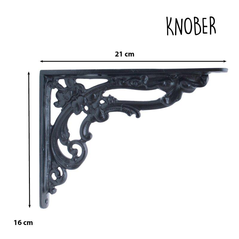 Regalträger für Brett,Wandregal,Halter,Wandhalter. 1 Paar rustikale Regalhalter